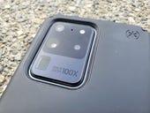 Speck Presidio case options for the Samsung Galaxy S20 Ultra 5G: Hiding the camera bump