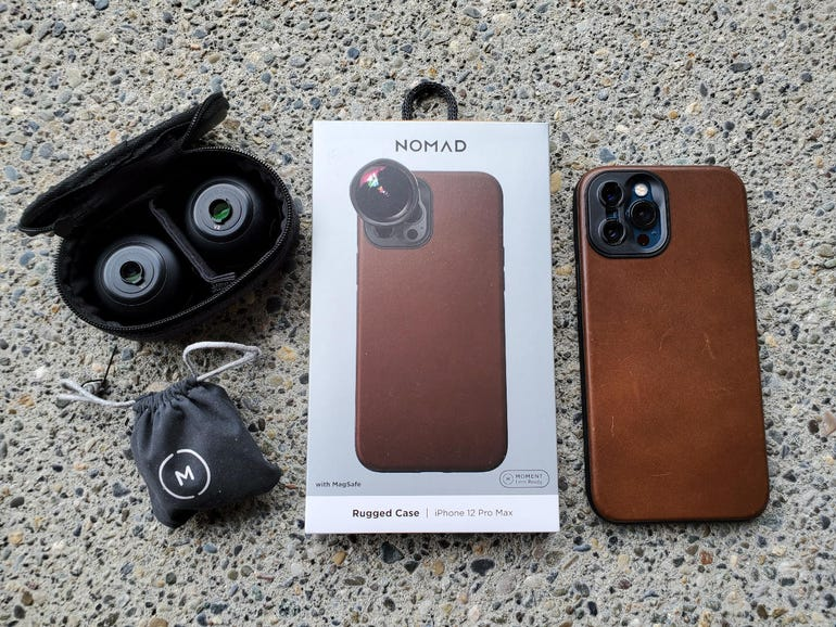 Nomad Rugged Leather Moment case for Apple iPhone 12 Pro Max