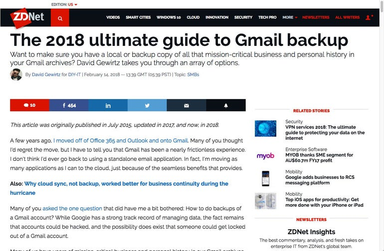 The 2018 ultimate guide to Gmail backup