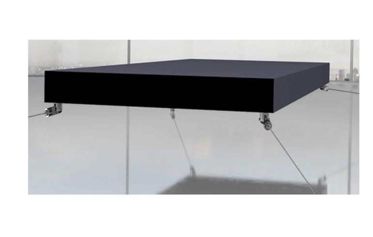 A levitating bed