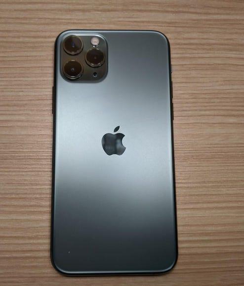 Apple iPhone 11 Pro in midnight green