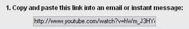 YouTube URL example