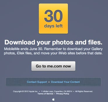 Apple: Download your photos now, before we delete them! Jason O'Grady