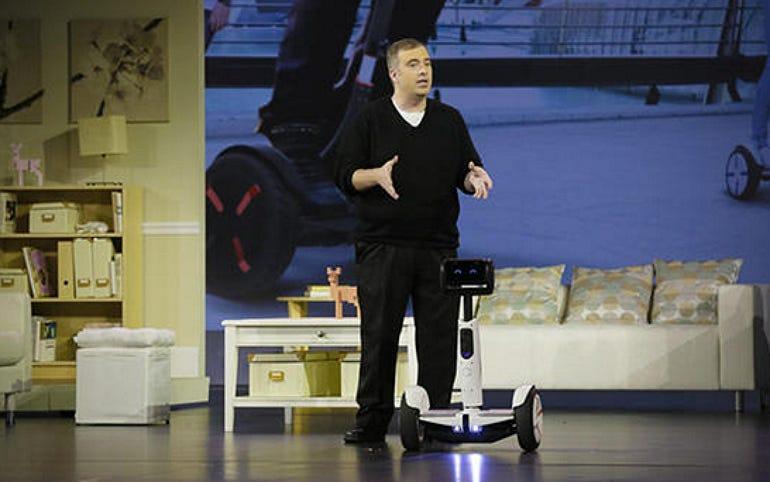 Intel's Segway robot