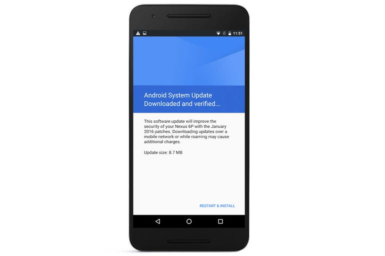 14. Make sure you keep Android up-to-date