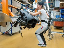Coming to a factory near you: Man-machine hybrids