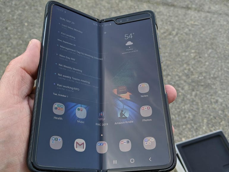 Samsung Galaxy Fold aborted launch