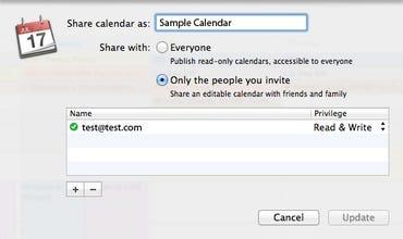 iCal Share Calendar as - Jason O'Grady