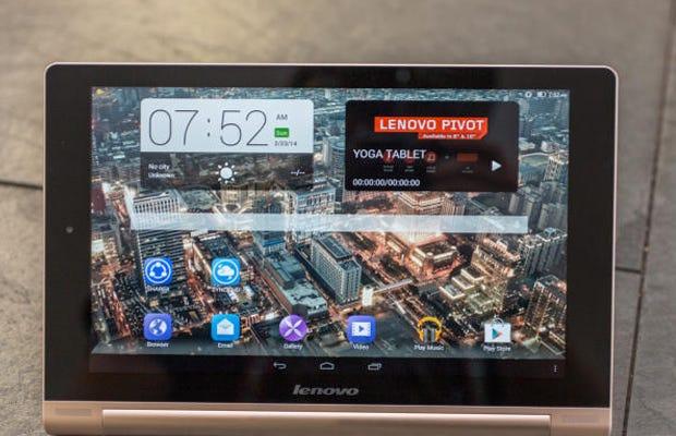 Lenovo's Yoga HD+ tablet