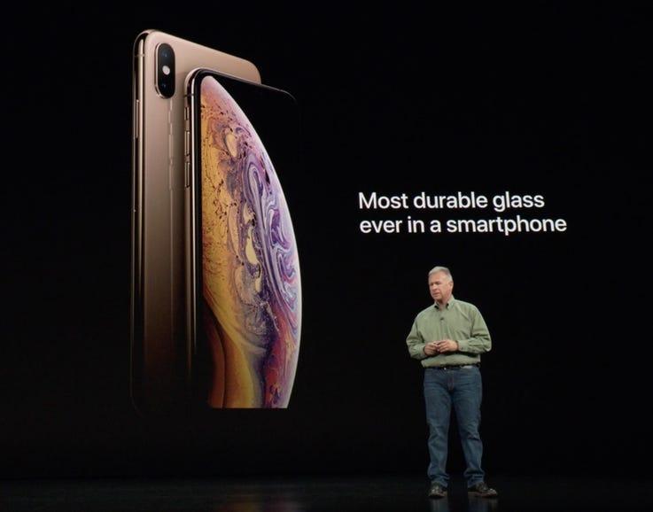 Apple kicks off talking about durability