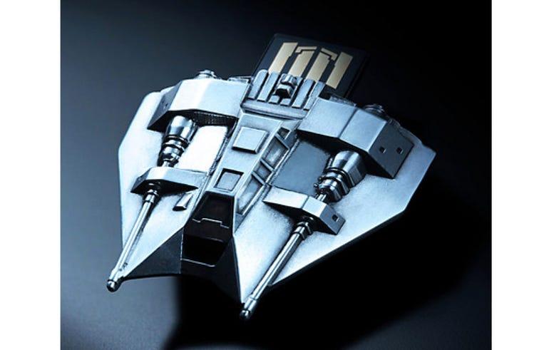 Pewter Star Wars USB flash drives