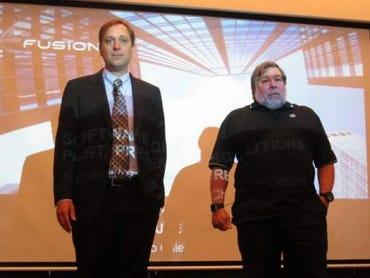 David Flynn and Steve Wozniak