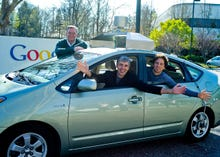 Driverless cars get green light for UK roads