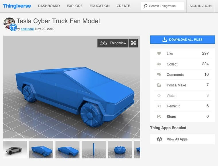 Thingiverse to the rescue