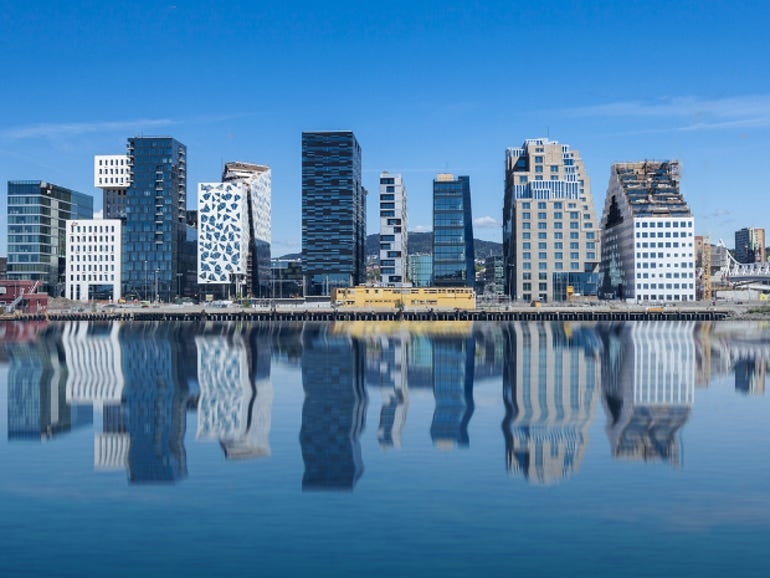 Oslo became the world's first LTE city in 2009