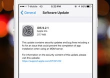 Apple updates OS X, iOS 9 with security fixes