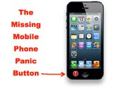 You know what's missing from my mobile phone? A panic button