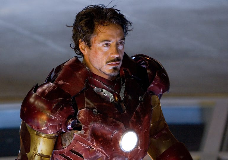 7. Iron Man (2008)