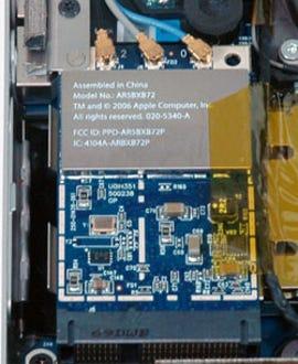 MacBook Pro 802.11n adapter