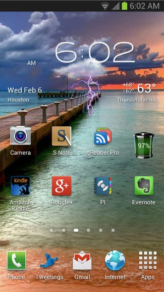Top apps for the Galaxy Note 2