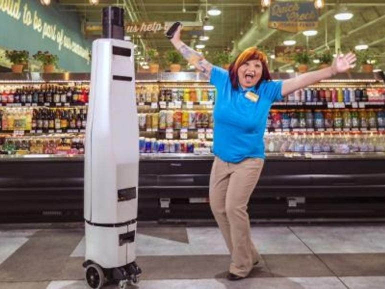 ROUND 21: STORE SCANNING ROBOTS ROVE AISLES AT WALMART