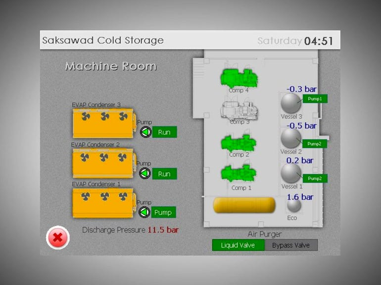 7. Don't put your cold storage control systems on the internet