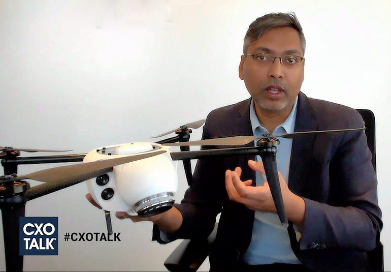 Kespry drone cxotalk