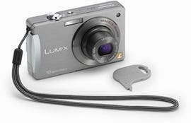 Panasonic's new Lumix DMC-FX500 sports a 3-inch touch screen and 25mm wide-angle lens