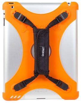 The Grablet case for the iPad 2 in orange