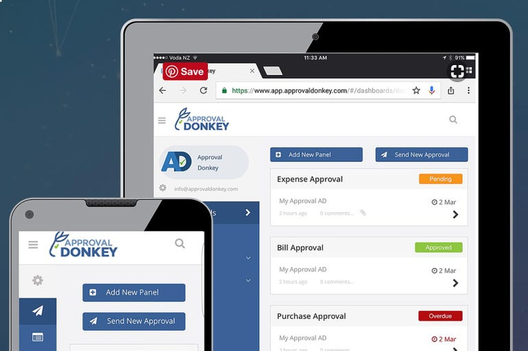 Approval Donkey - cloud-based approval workflows