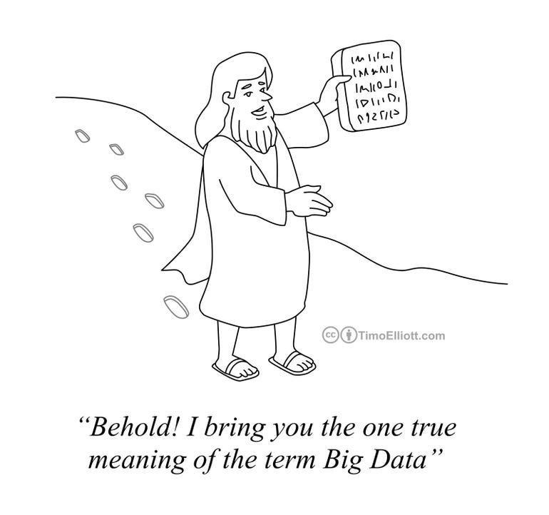 Cartoon: Behold The True Meaning of Big Data!