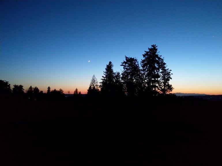 WA sunset
