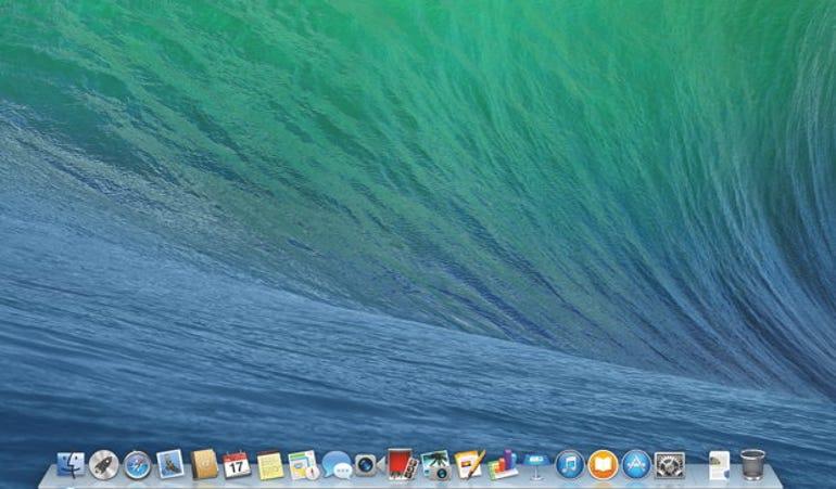 Apple Mavericks desktop
