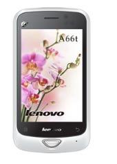 Marvell powers Lenovo's A66t. Credit: Lenovo