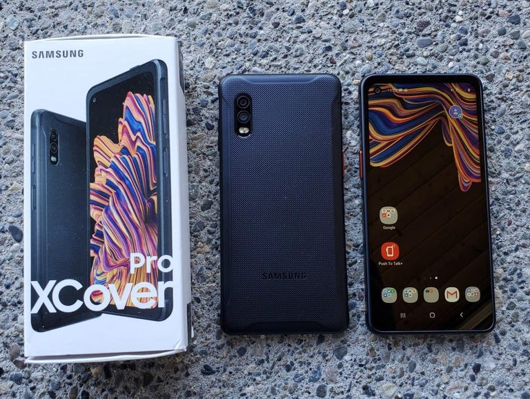 Samsung XCover Pro retail package