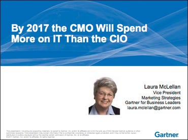 Gartner CMO will spend more on IT than CIO