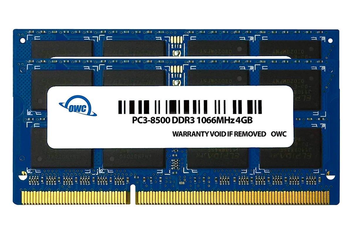 OWC RAM upgrades for Macs