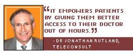 Dr Jonathan Rutland, TeleConsult