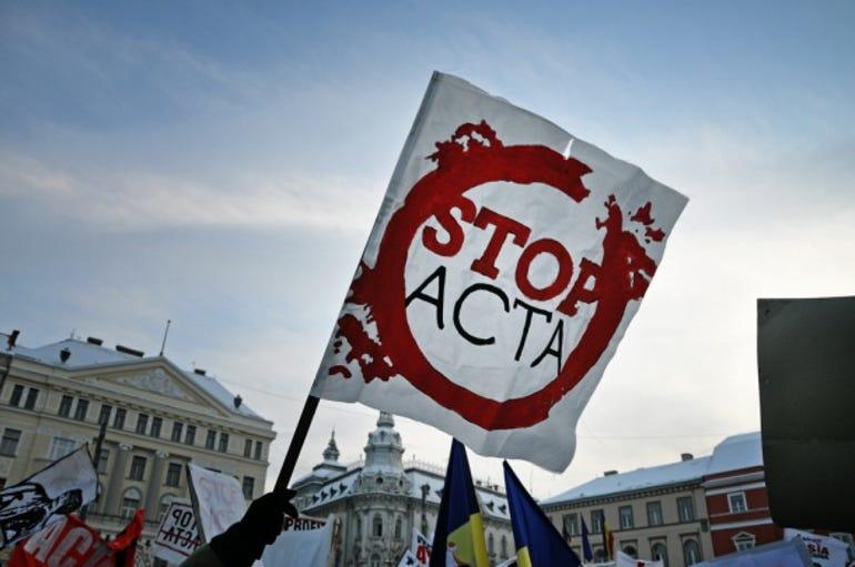 ACTA protests