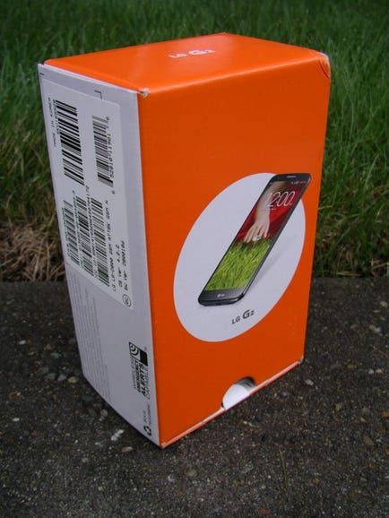 AT&T LG G2 retail package