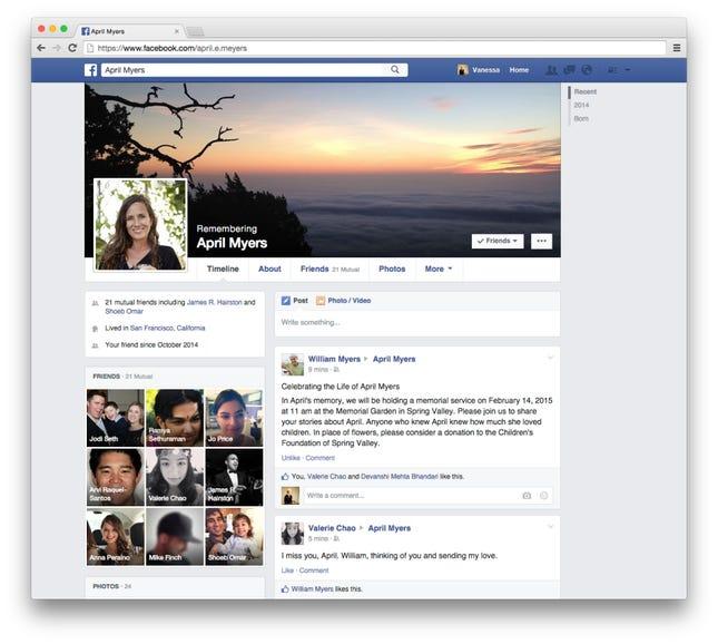 Redesigned profiles