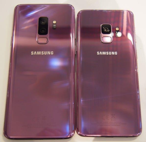 The S9 Plus and S9 size comparison