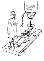 NoOXML Cartoon from nooxml.com