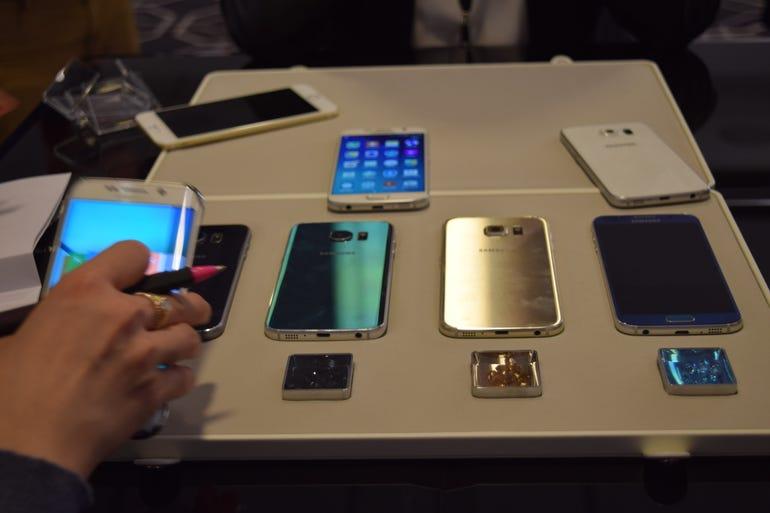 Samsung Galaxy S6 edge colors