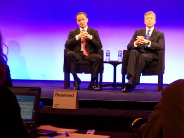 SAP's Co-CEO's Snabe and McDermott