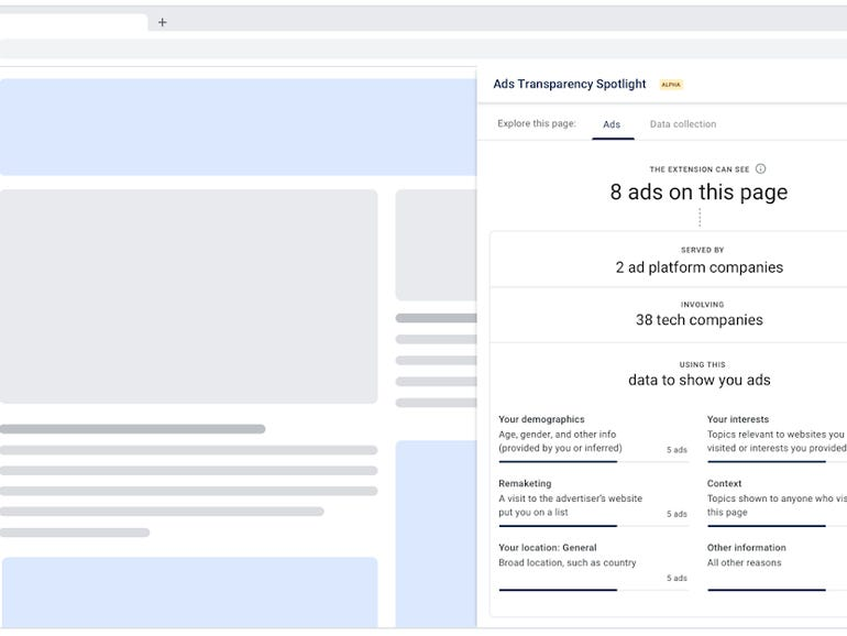 Google launches Chrome extension for ad transparency, Trust Token API   ZDNet
