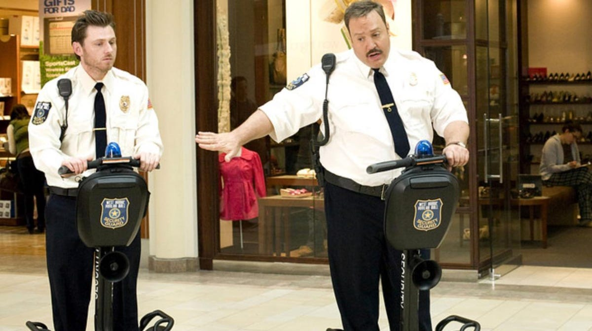 Paul Blart: Mall Cop-Segway