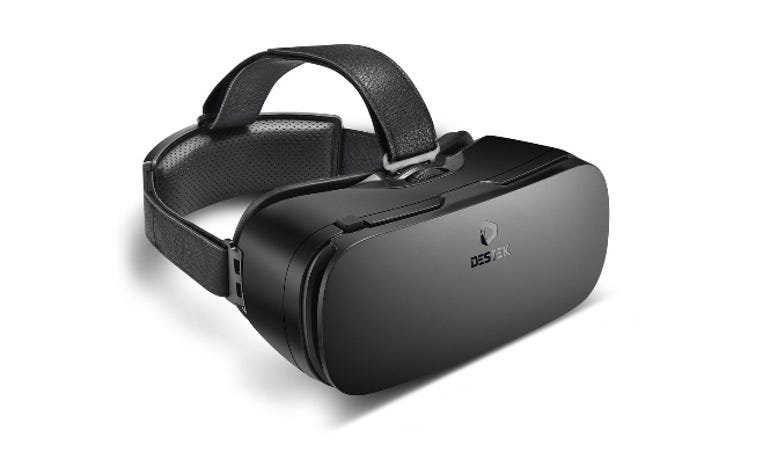 Hands on with the Destek v4 VR Headset Great quality for an affordable price ZDNet