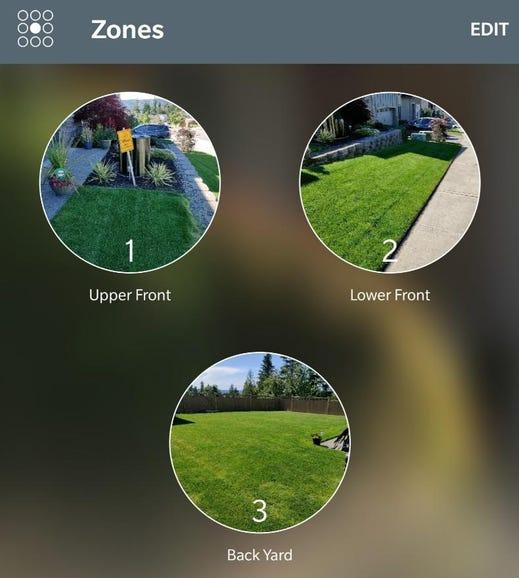 Custom zone images