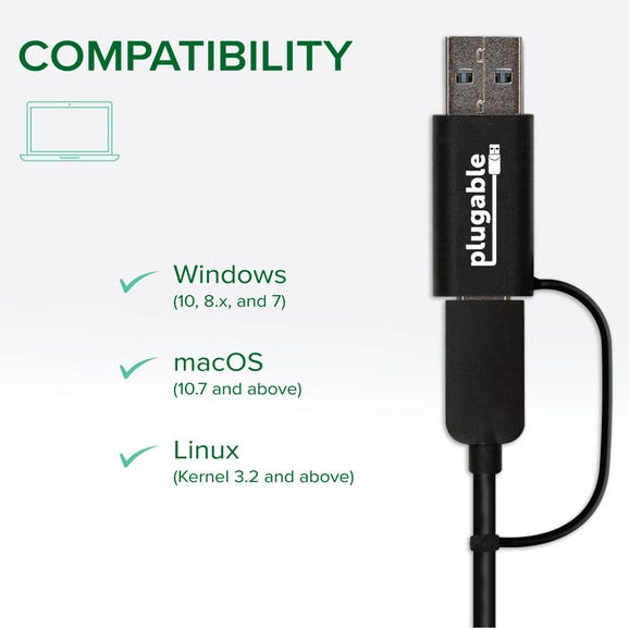 Plugable 2.5Gbps Ethernet adapter